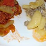 Musaca de vinete și musaca de cartofi
