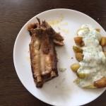 Coaste de porc marinate